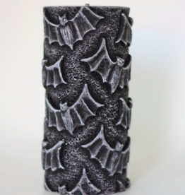 Alo Candles Black Bats Pattern Candle - Tall