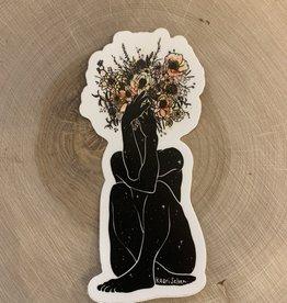 Kaari + Co Bouquet Pose Vinyl Sticker