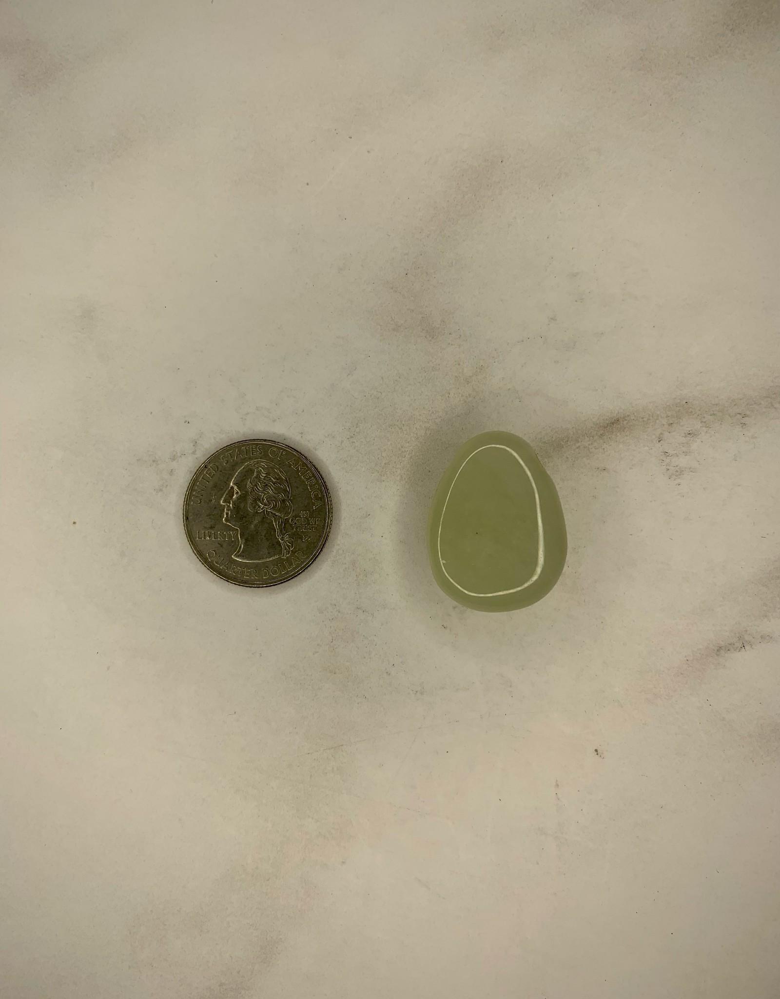 Capstone Esoterica Green Jade Gemstone Pendant