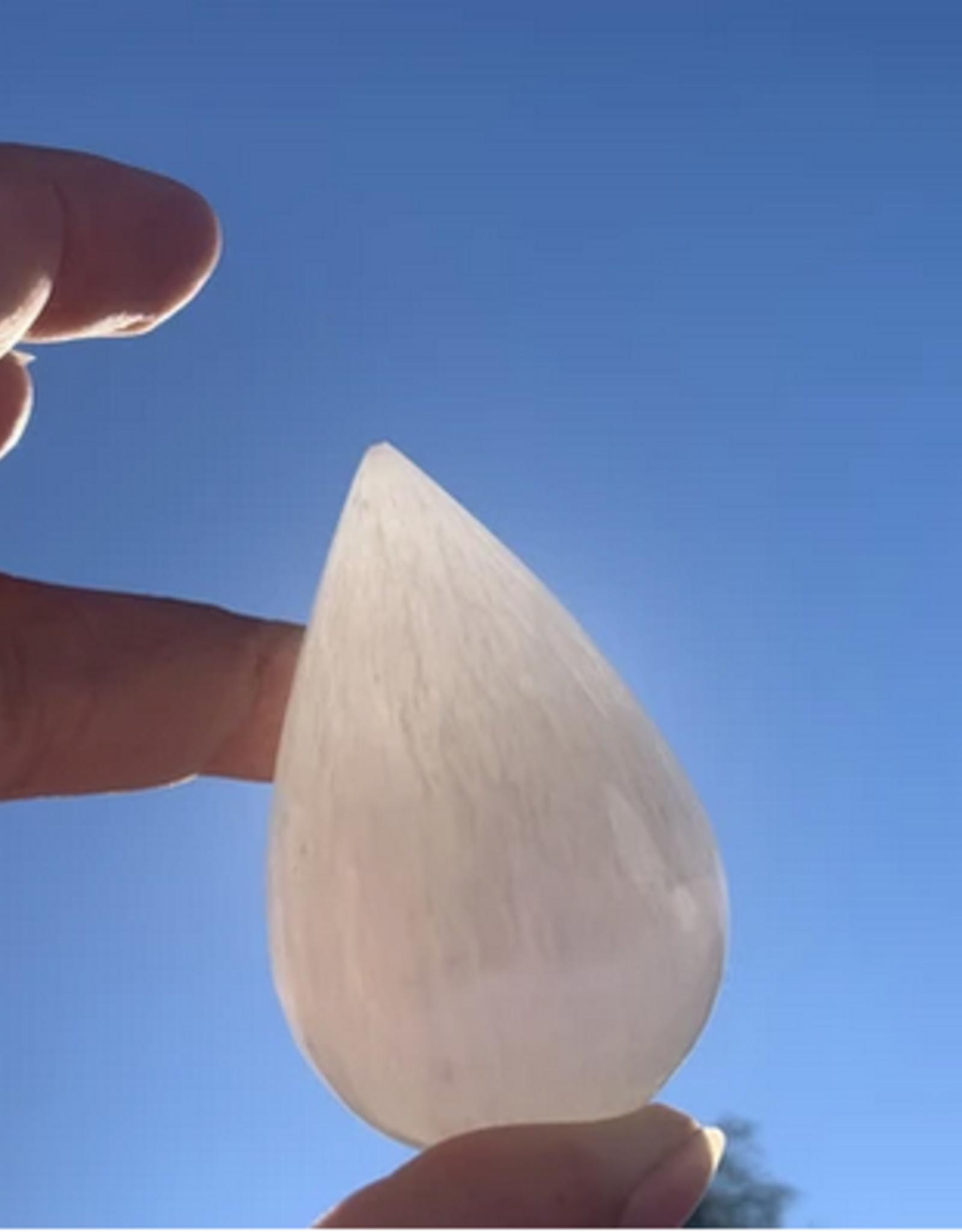 Pelham Grayson Selenite Moon Drops