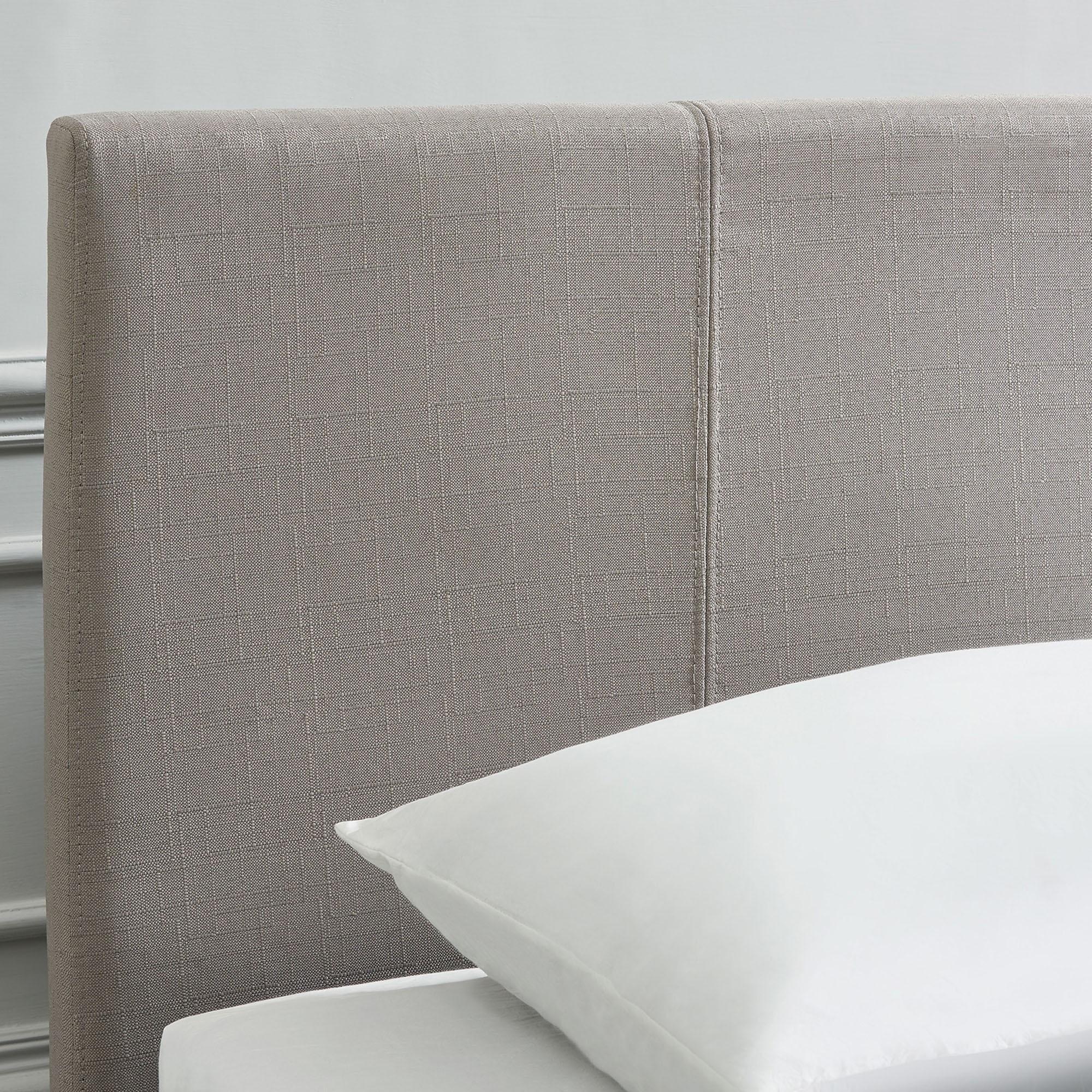 """Nevis 60"""" Queen Platform Bed in Grey"""