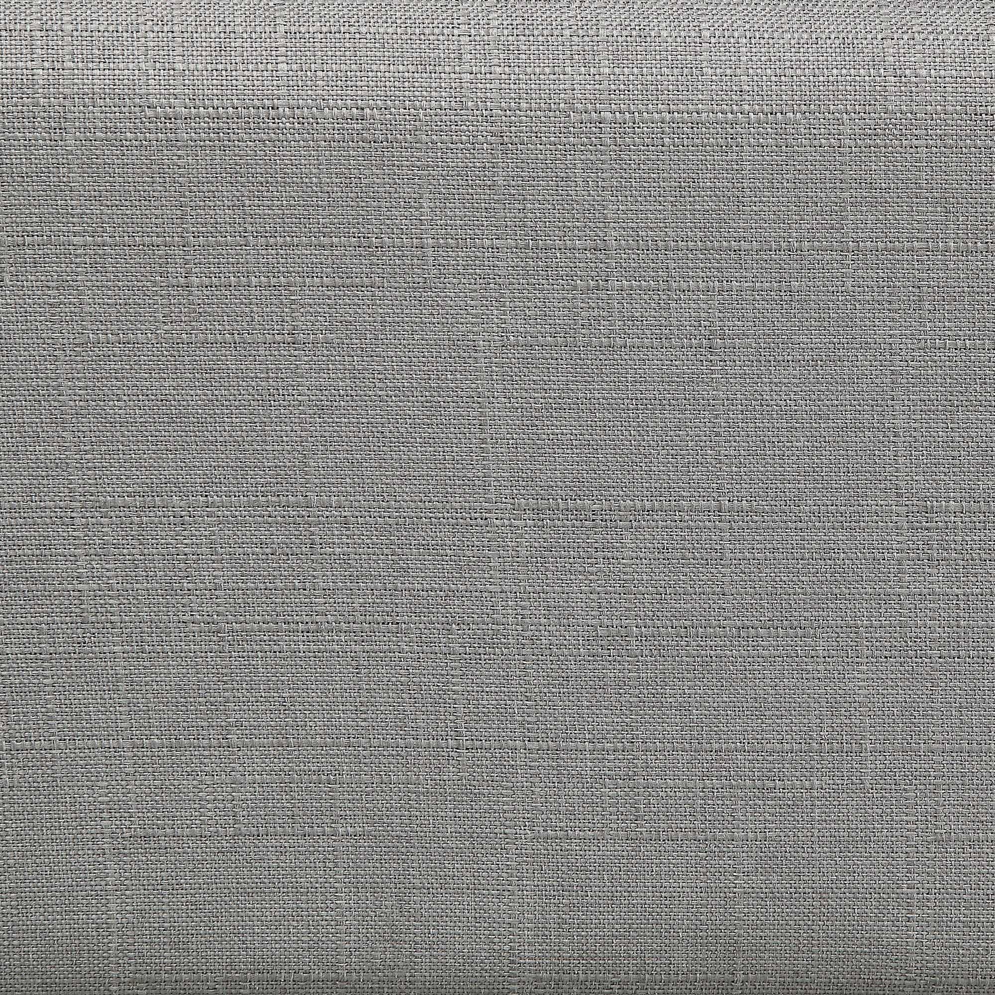 """Louvre 60"""" Queen Platform Bed in Grey"""