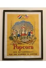 SPV Popcorn poster framed