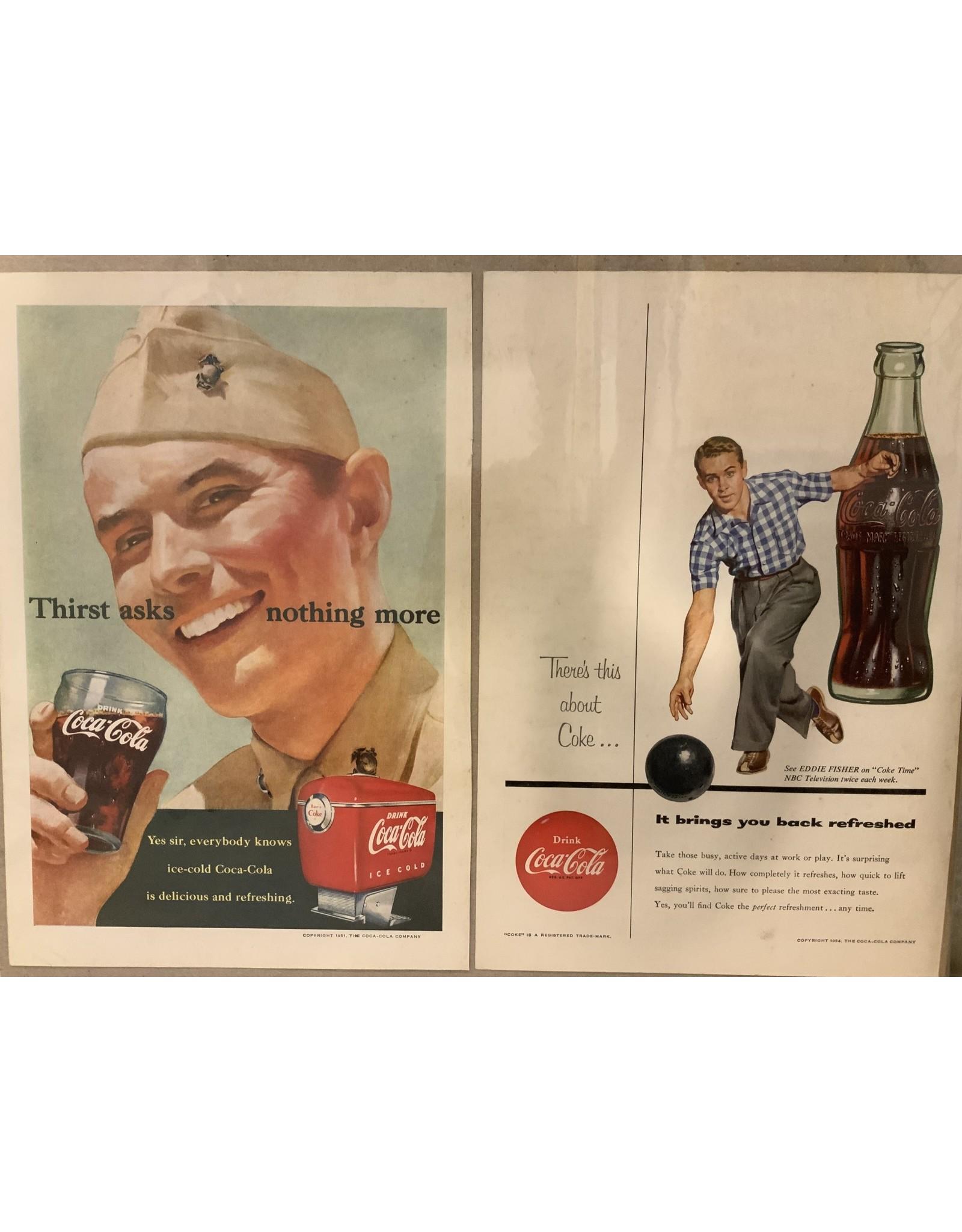 SPV 1950's Coca-Cola advertisements