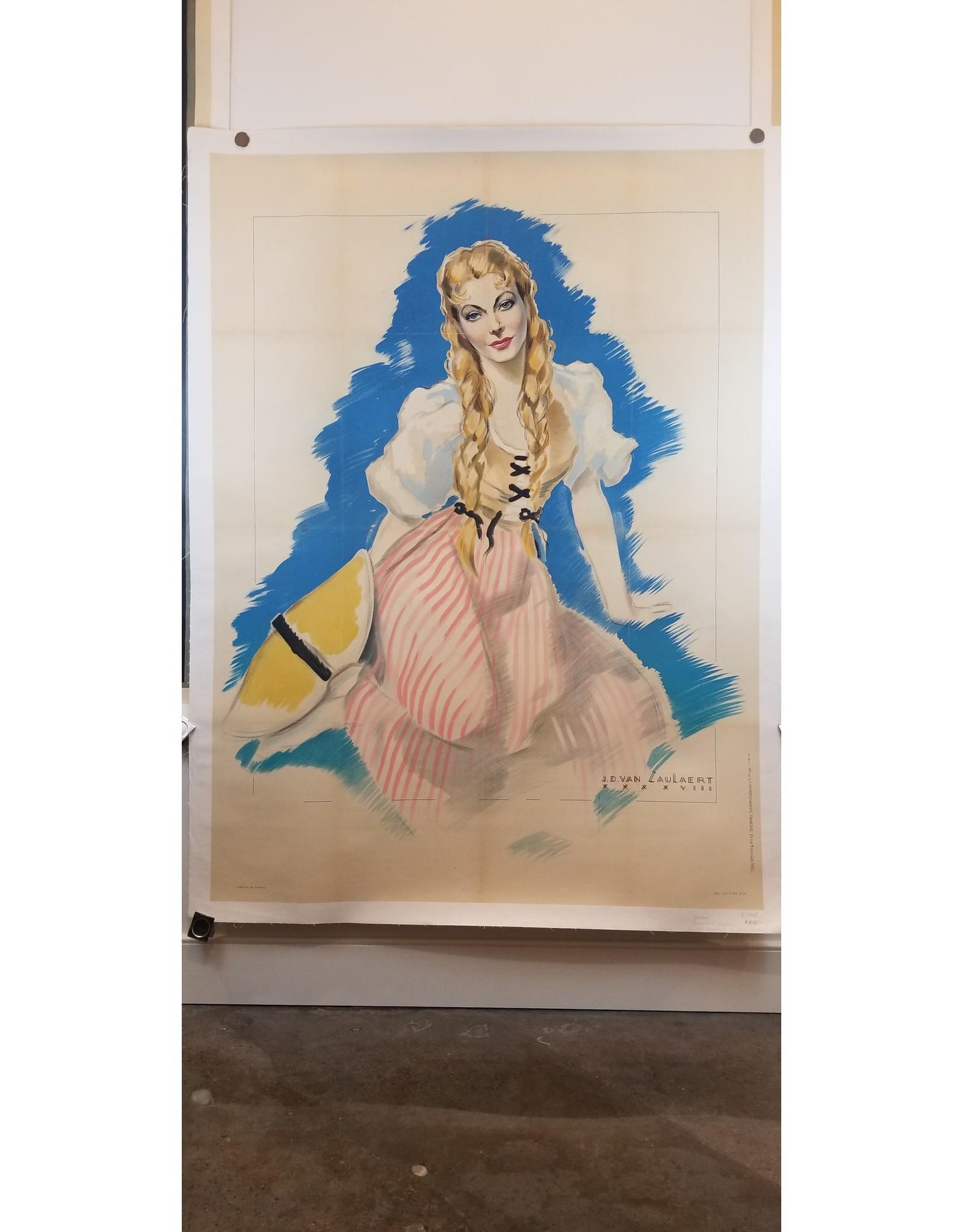 SPV Jacqueline Pagnol La Belle Meuniére Lithograph Poster
