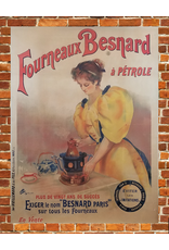 SPV Fourneaux Besnard à PÉTROLE Lithograph Poster