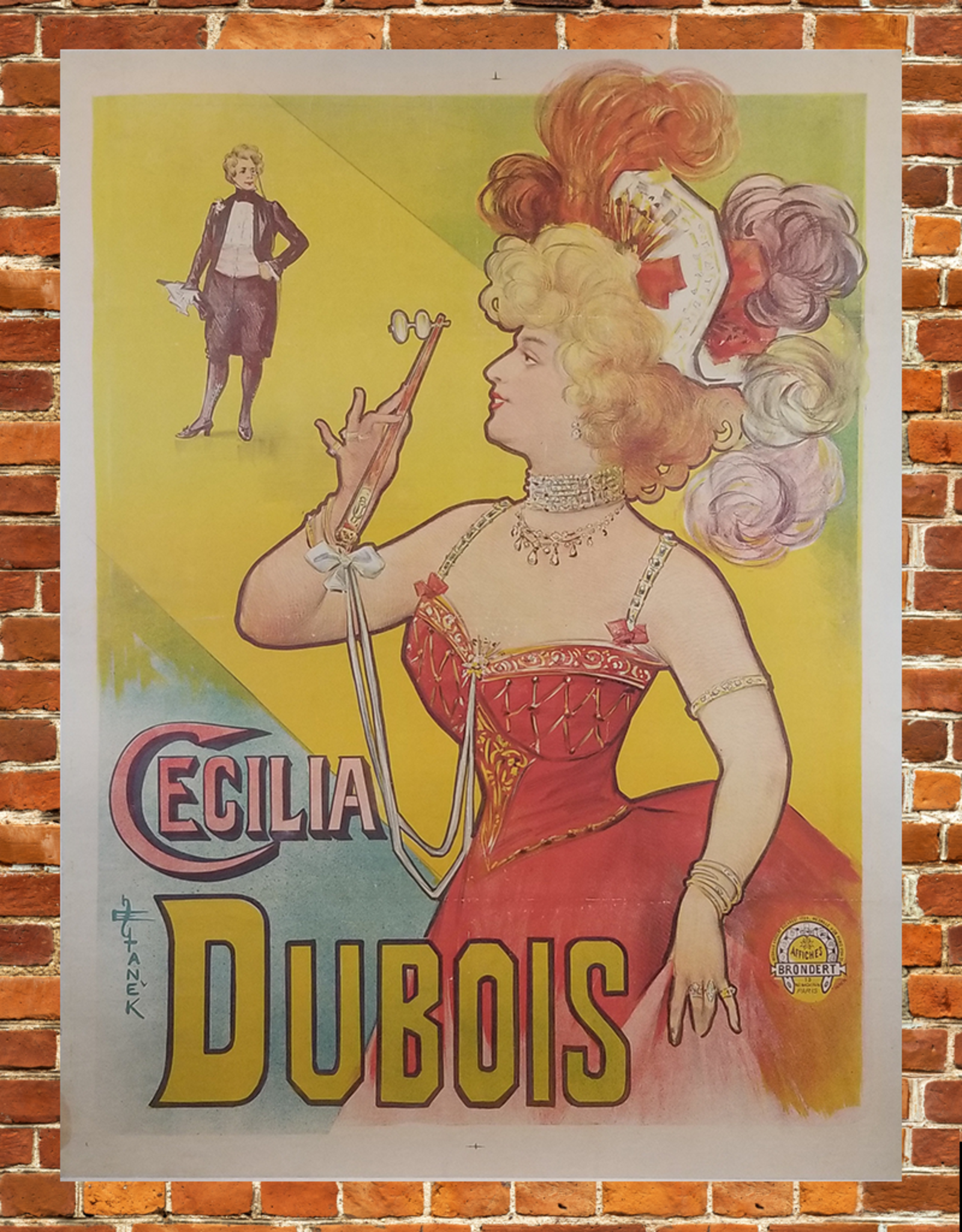 SPV Cecilia Dubois Lithograph Poster