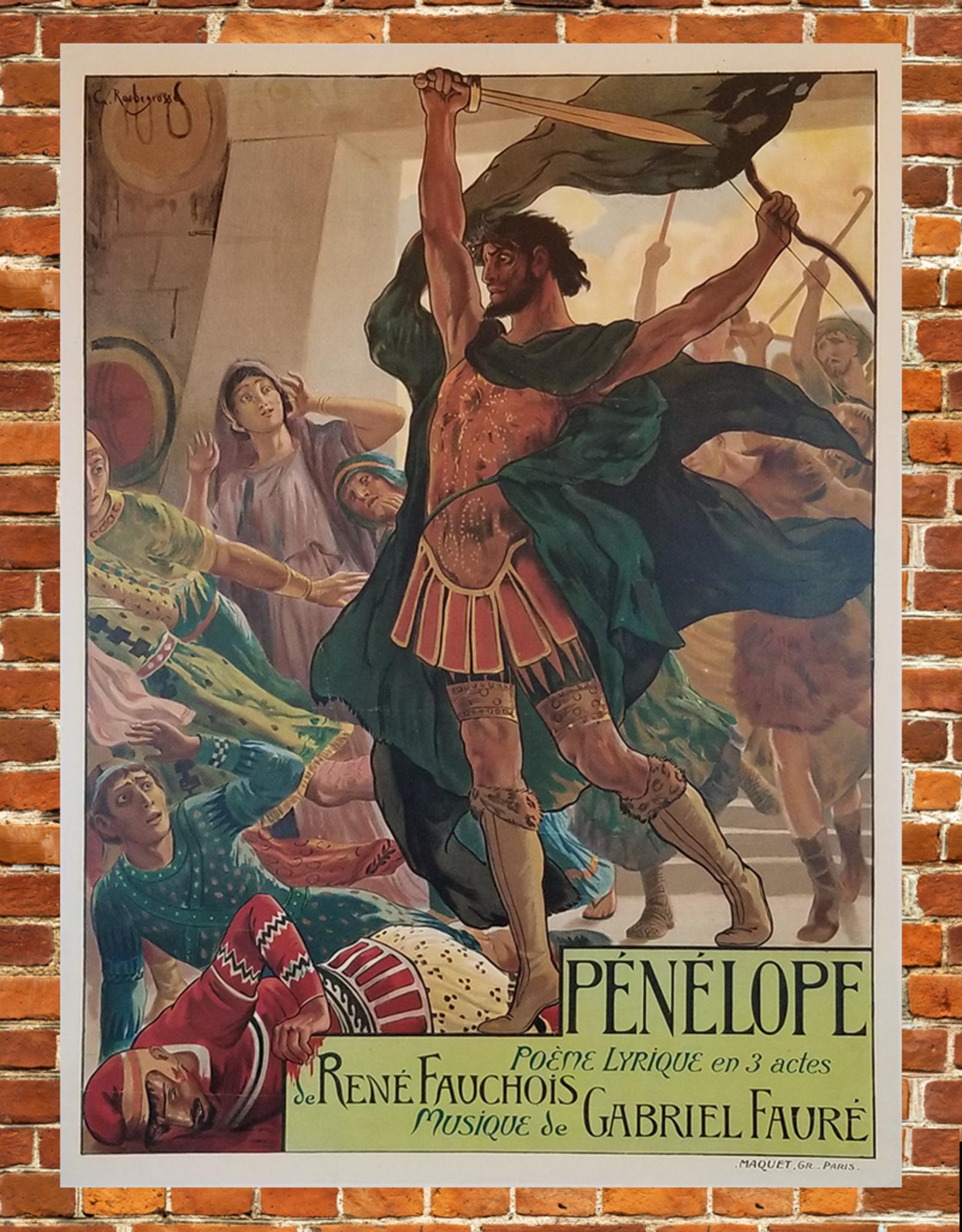 SPV Pénélope Lithographic Poster