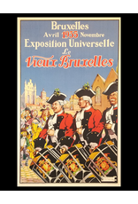SPV Bruxelles Exposition Universelle Lithograph Poster
