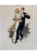 SPV Dancing couple print