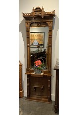 SPV Vintage hall pier mirror with marble shelf