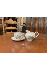 SPV Royal Wessex Ironstone set of 5  Teacups and saucer with creamer