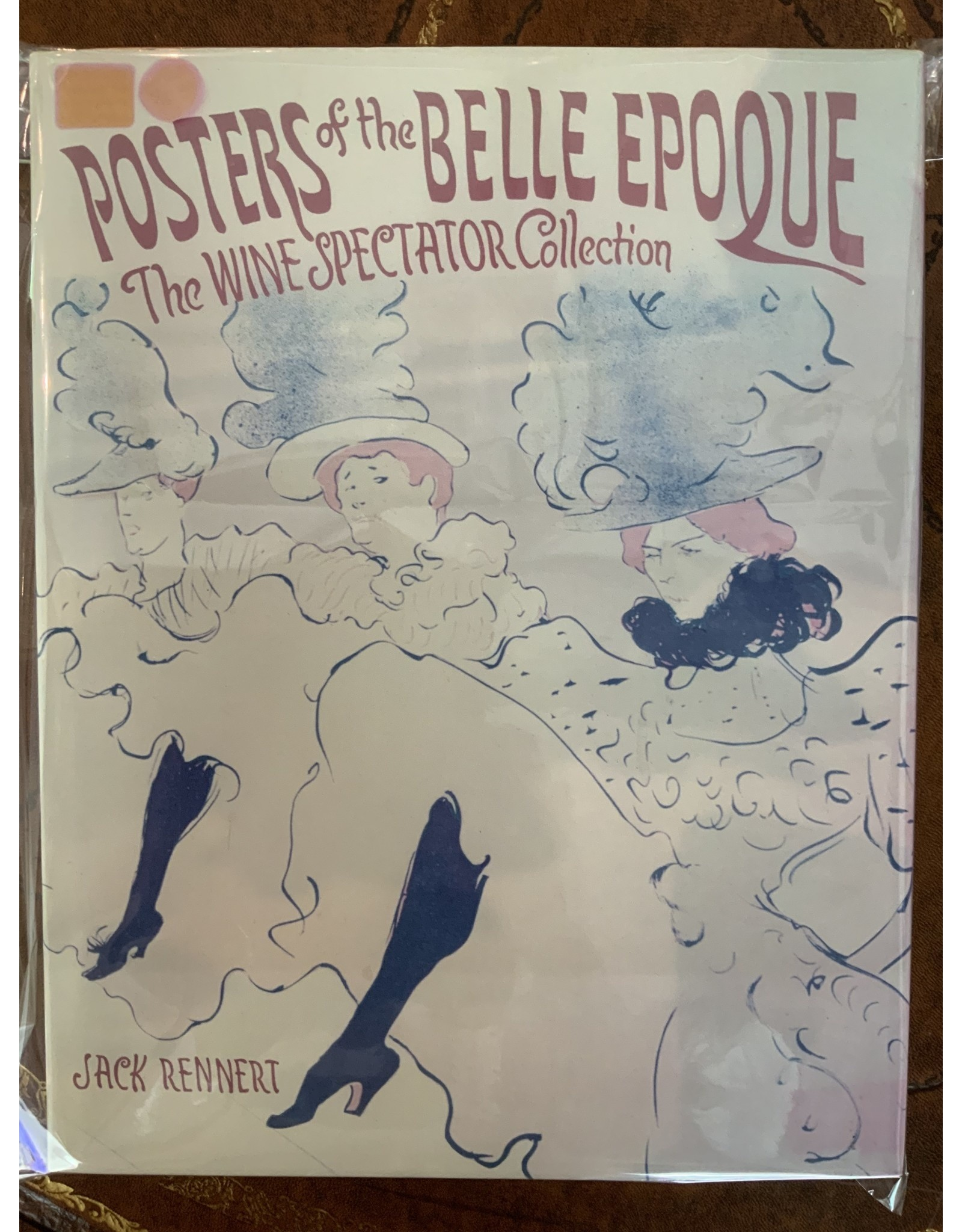 SPV Book of posters of the Belle Époque wine spectator collection