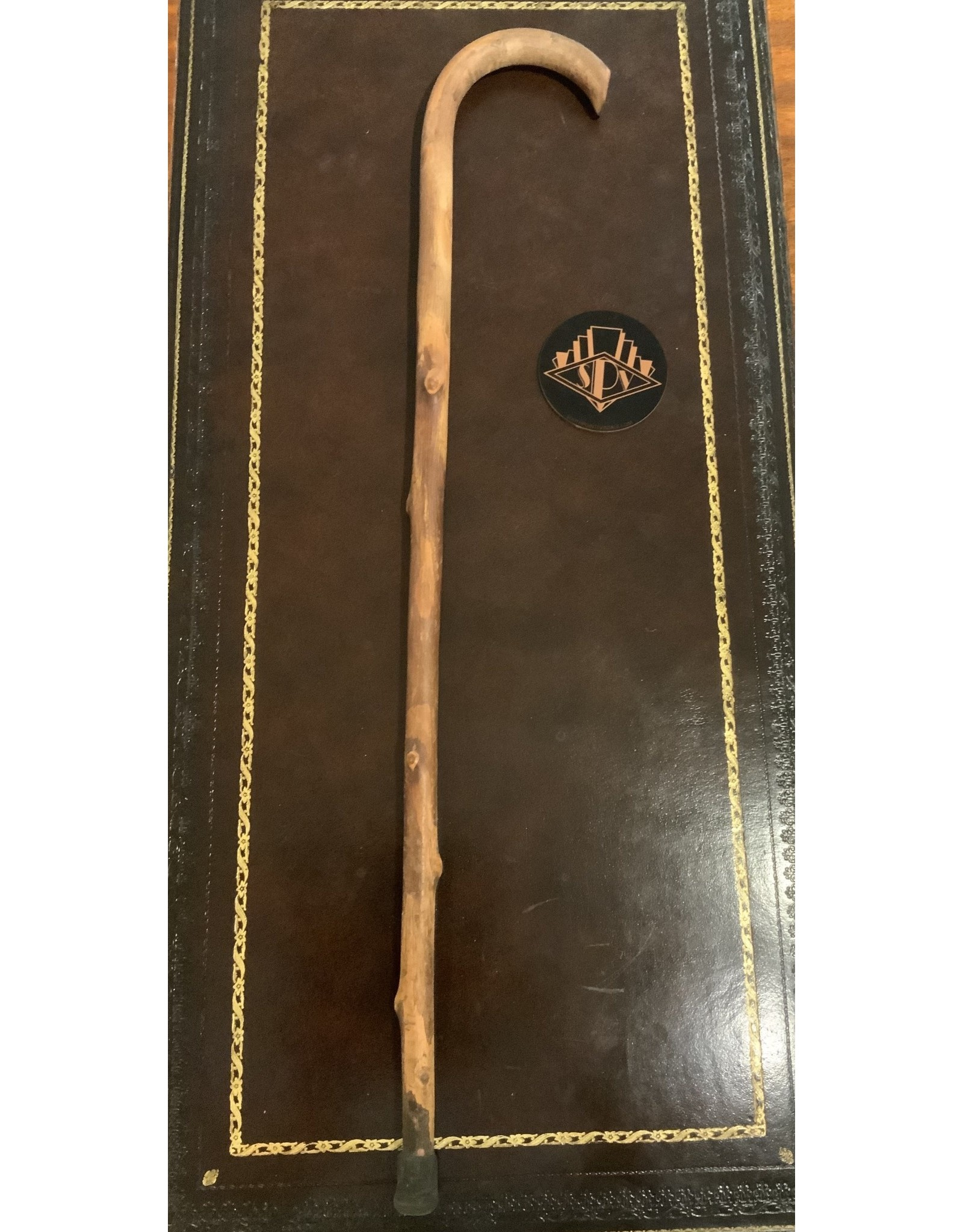 SPV Wood carved cane