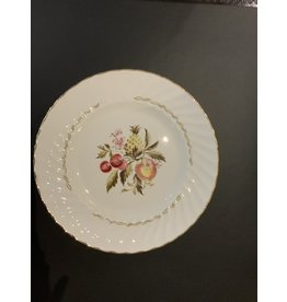 SPV Set of 8 Royal Wessex White ironstone dinner plates