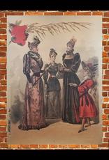 SPV 4 Women Lithograph Poster