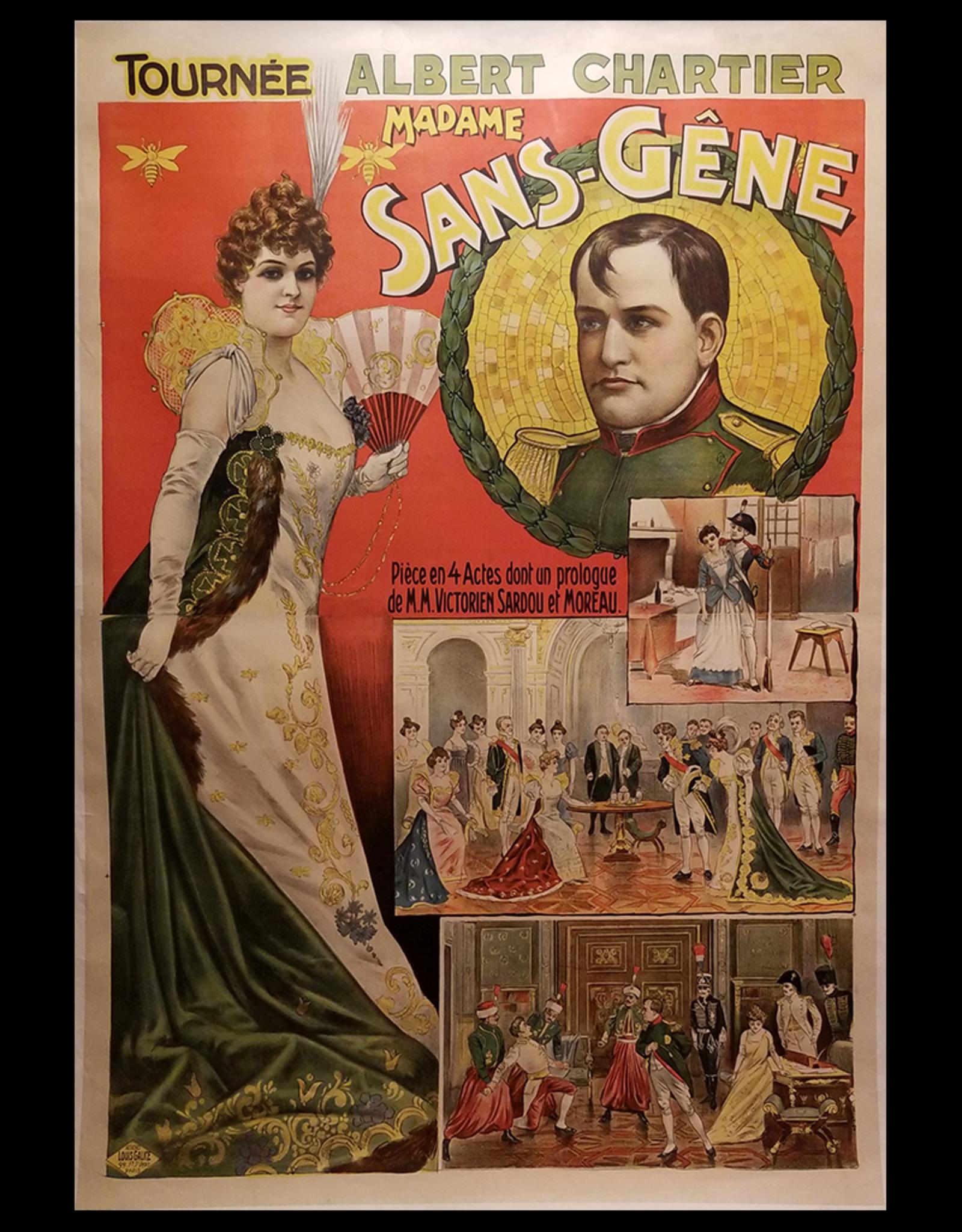 SPV Madame Sans-Gêne Lithograph Poster
