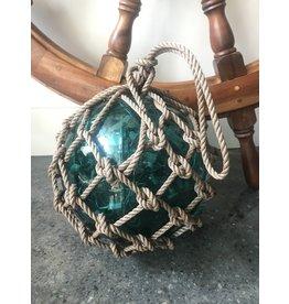 SPV Vintage Japanese Green Glass Buoy