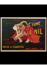 SPV 1912 Original French Cigarette Poster - Je Ne Fume Que Le Nil