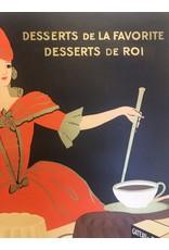 SPV La Favorite, 1930s French Dessert Poster