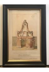 SPV La Tenture Francaise Lithograph Framed