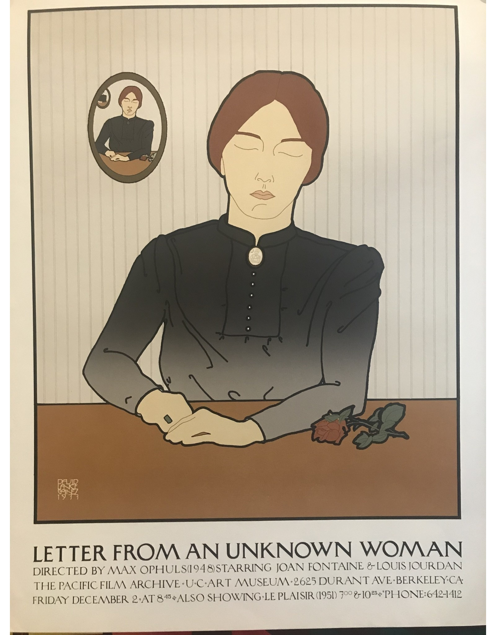 SPV Letter from an unknown women