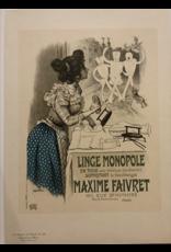 SPV Maitre de L'Affiche plate 195, Linge Monopole