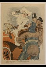 SPV Le Rire Original Journal page on linen