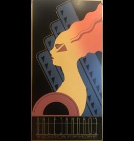 SPV Art Deco Poster of a female facing left