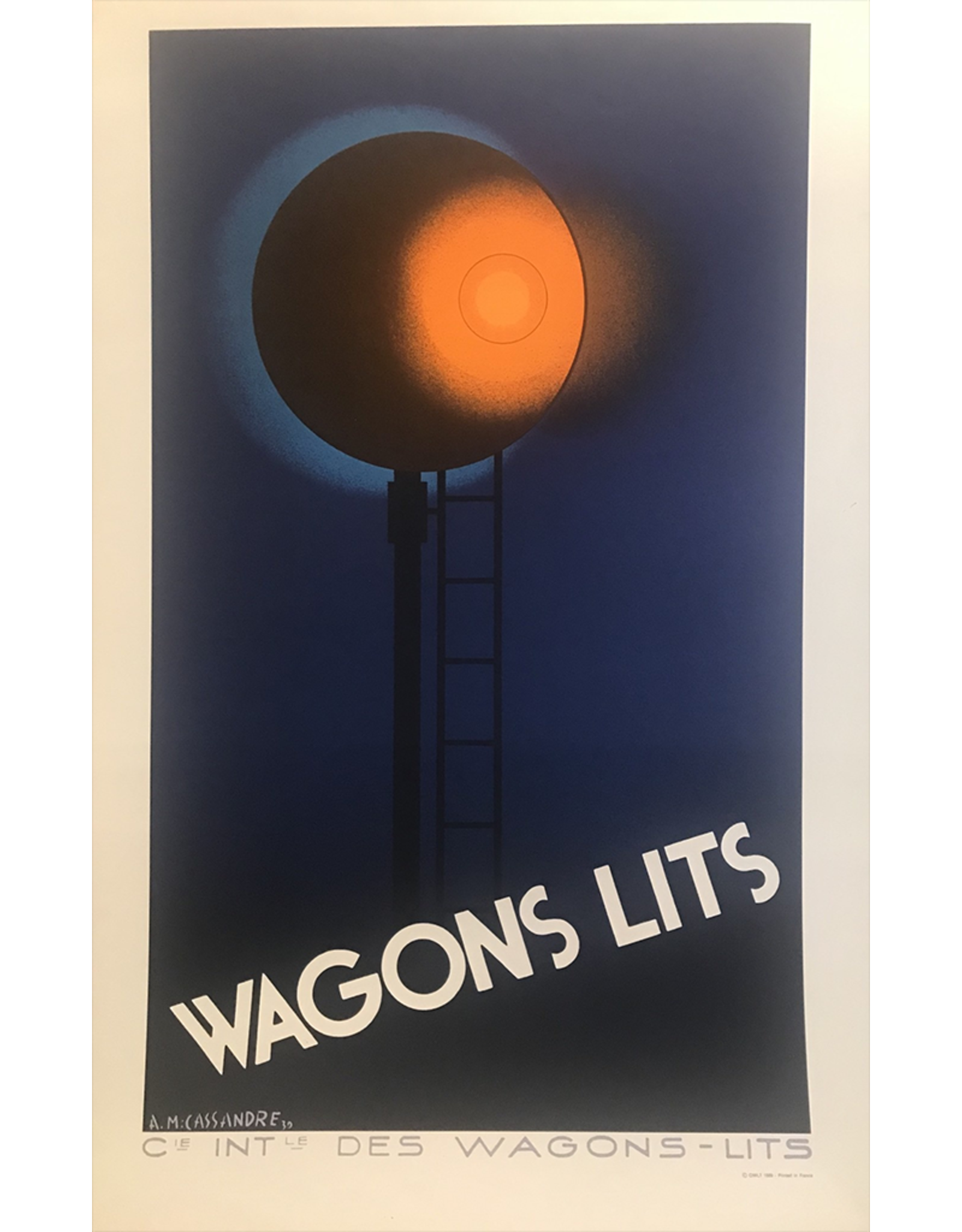 SPV A.M. Cassandre Wagon Lits/night sleeper