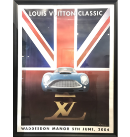 SPV Louis Vuitton Framed Razzia Linen backed print