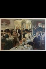 SPV Paris Dinning Room Litho De Rycker & Mendel, Bruxelles