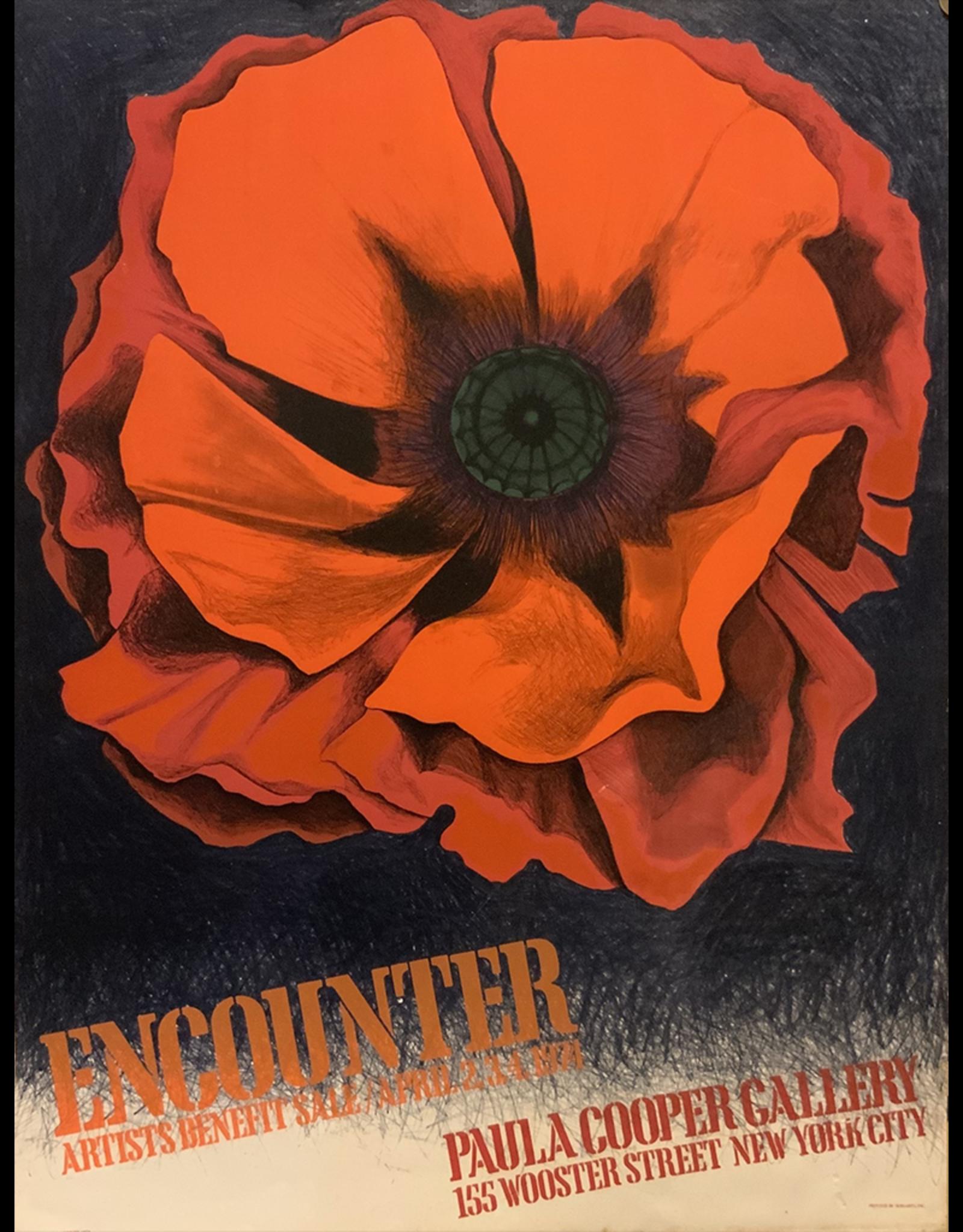 SPV Lowell Nesbitt poster for Paula Coopers gallery