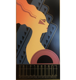 SPV Art Deco Poster female facing right