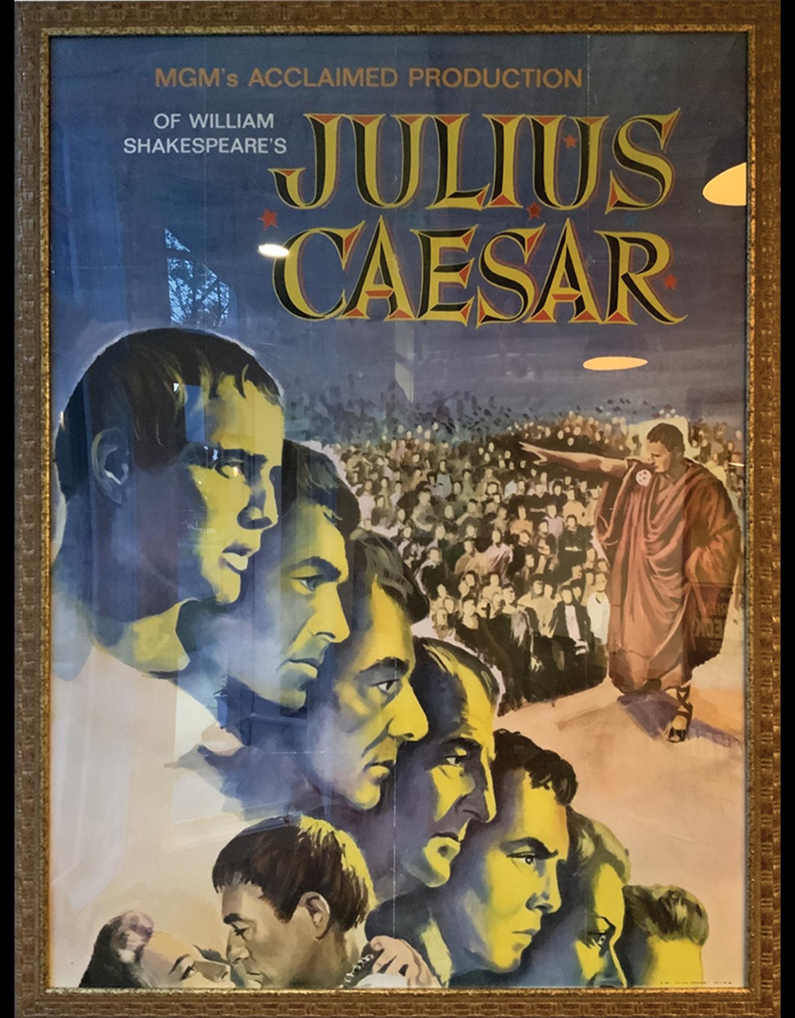 SPV Julius Caesar framed poster