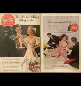 SPV 1950's advertisements of Coca-Cola
