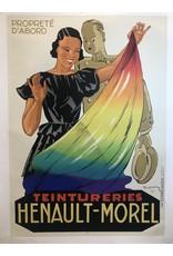 SPV Teintureries Henault-Morel Framed