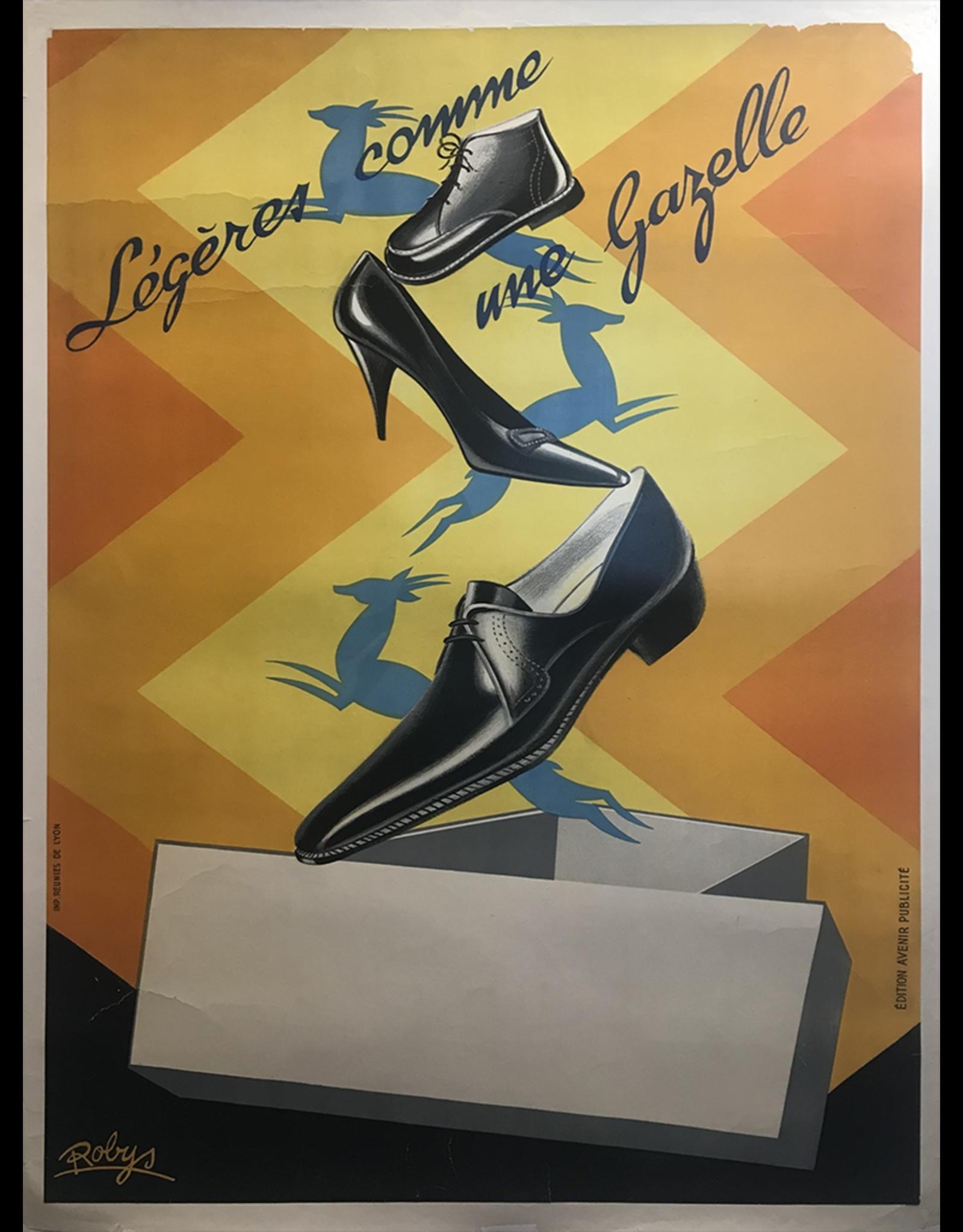 SPV Legeres come une gazelle Poster