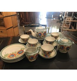SPV 17 piece hand painted Japanese tea set