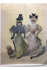 SPV Imp Camis Paris Two Victorian Ladies with a dog