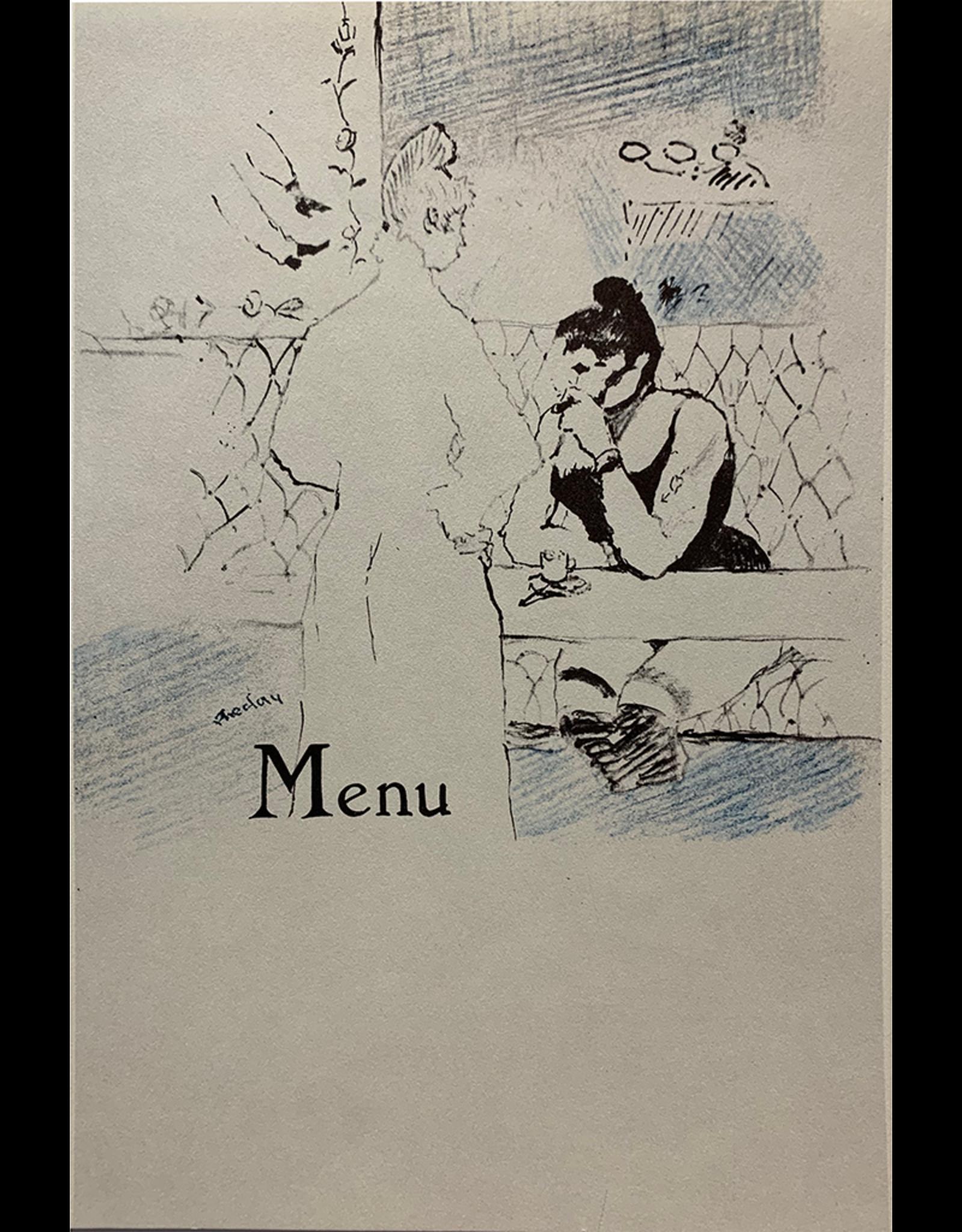 SPV Vintage French Cafe Menu