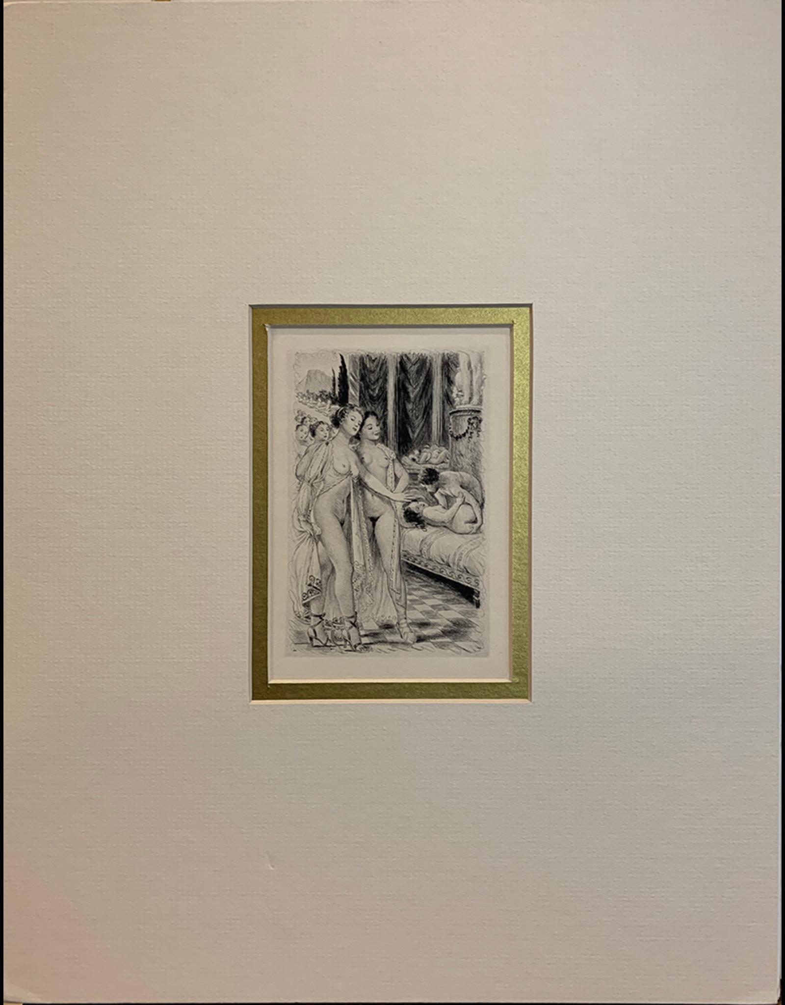 SPV Chimot, Two nude women in lace