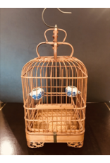 SPV Vintage Asian Bamboo Bird Cage