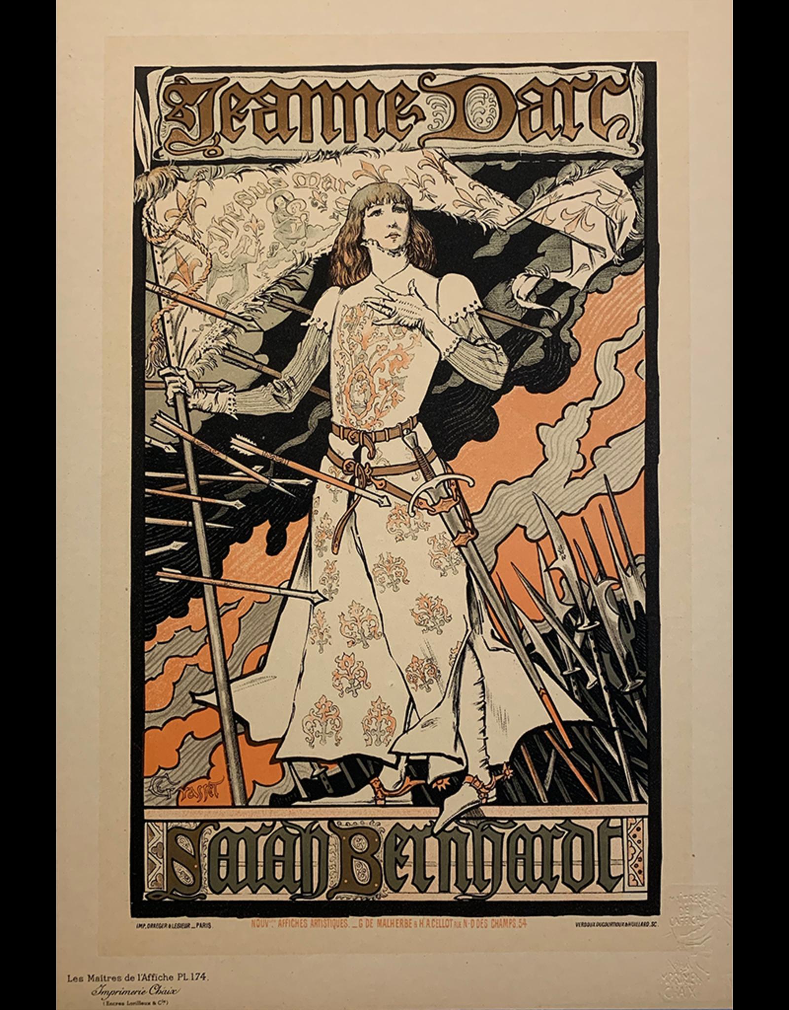 SPV Maitre de L'Affiche plate 174, Jeanne D Arc