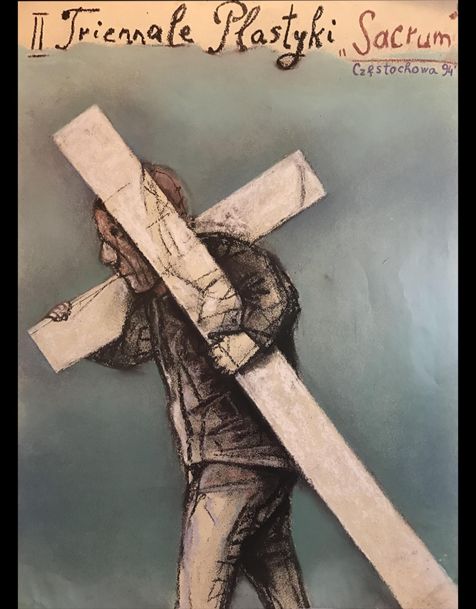 SPV Triennale Plastyki Sacrum Poster