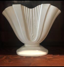 SPV White Art Deco Gladiola Vase