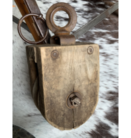 SPV Wood pulley square