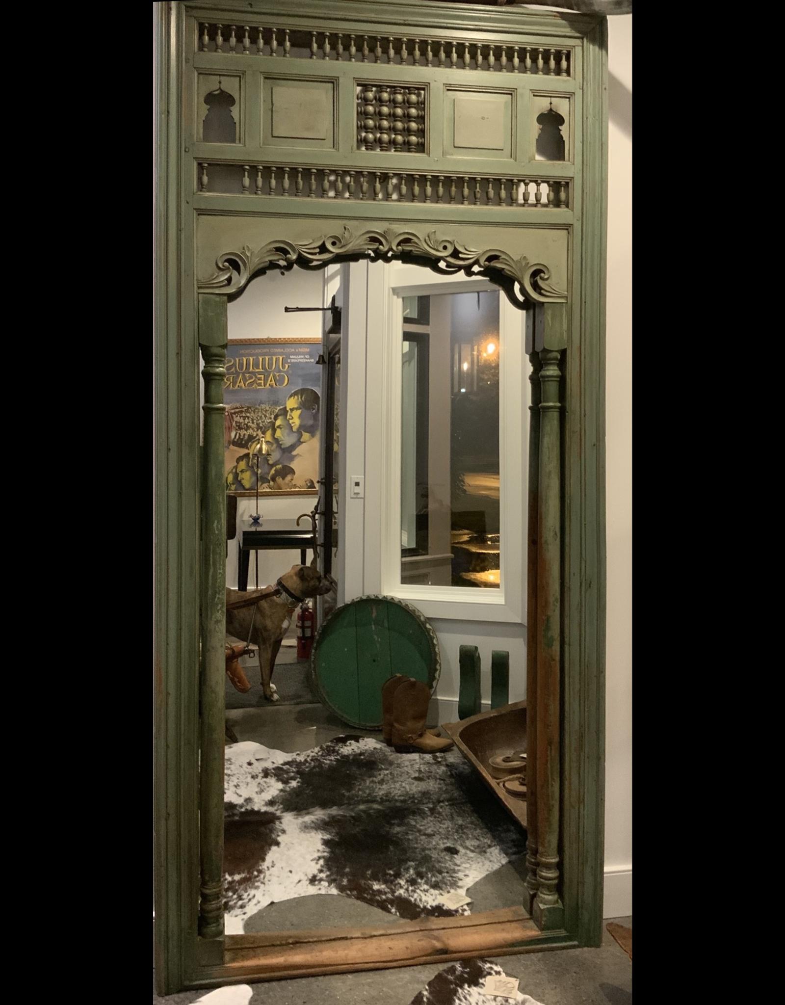 SPV Old door full-length mirror frame