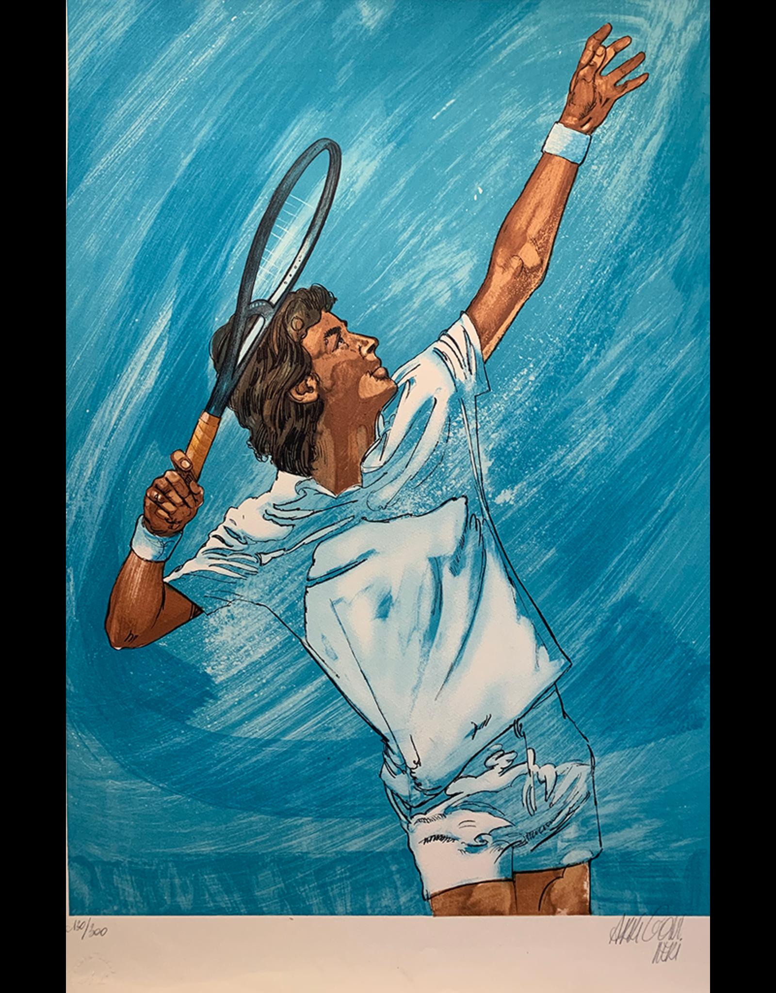 SPV Arrigoni Neri JF Tennis Lithograph