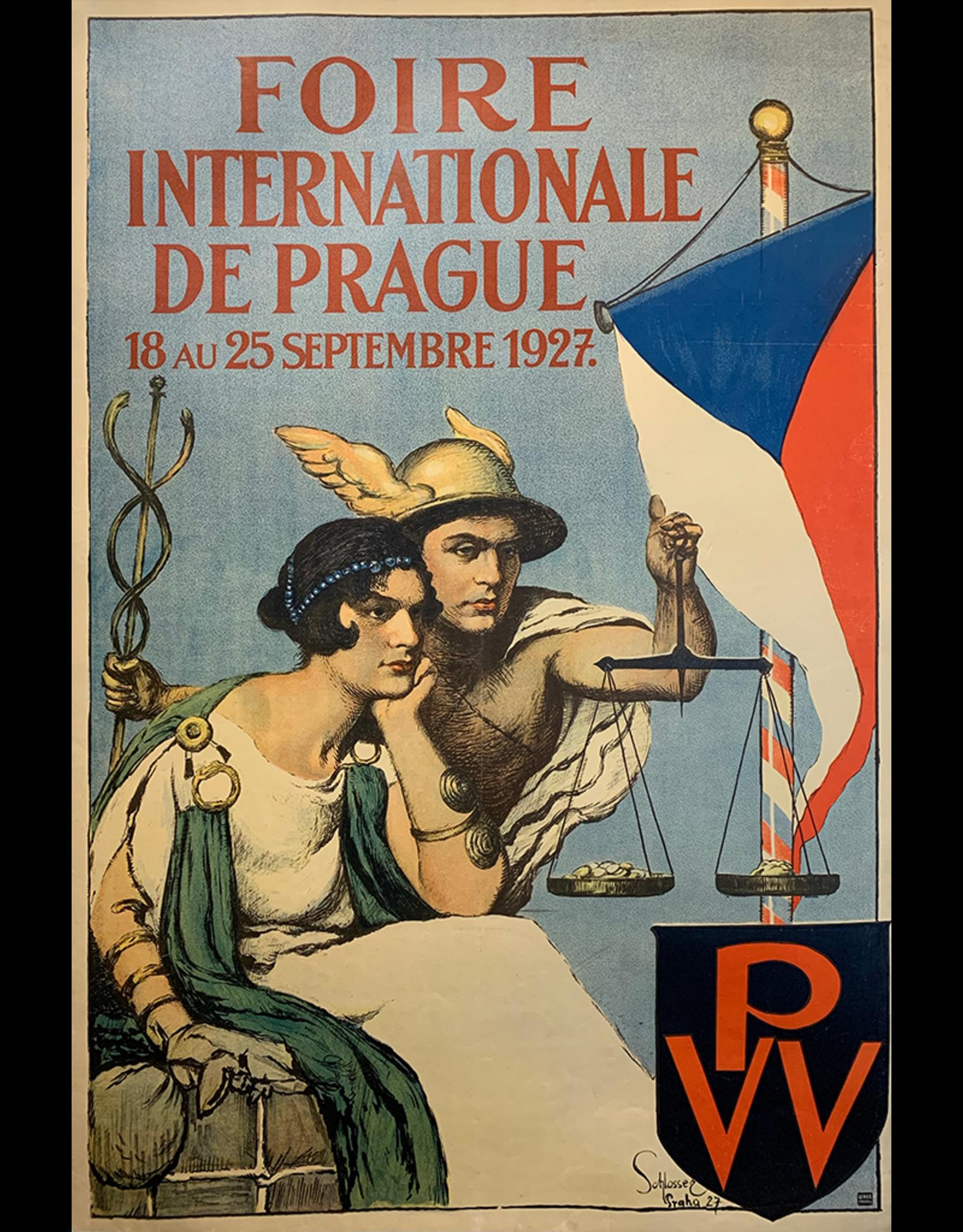 SPV International Fair, Prague 1927